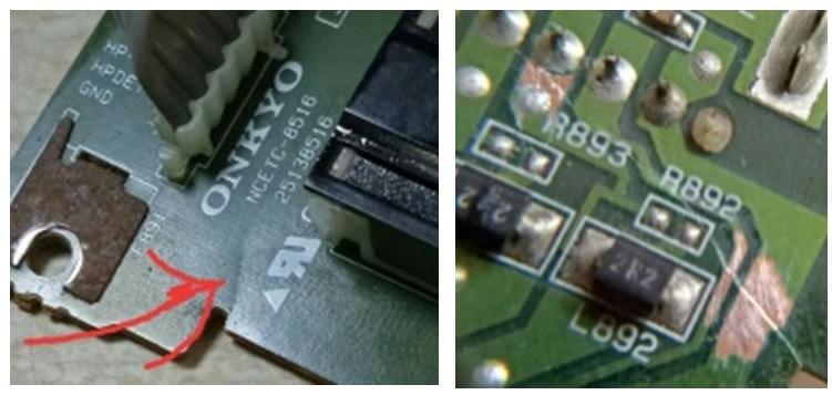pcb board av receiver
