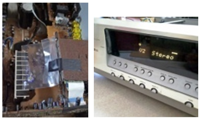 how to fix and repair onkyo htr-430 av receiver