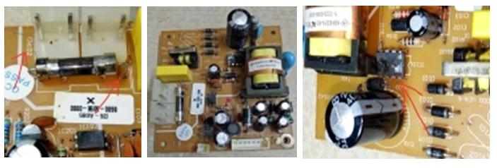 dvd power board repair
