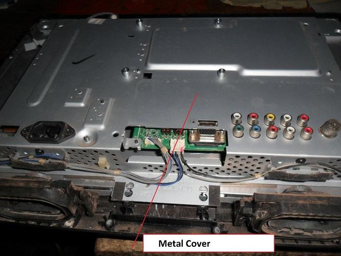 metal cover