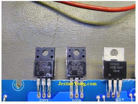power acoustic amplifier fix