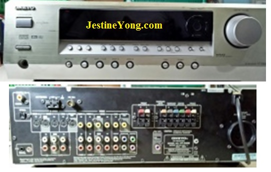 servicing AV receiver