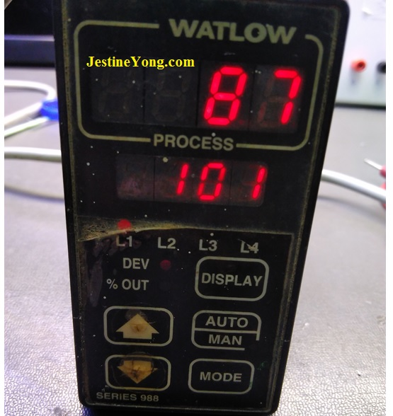 how to repair watlow temperature controller fix