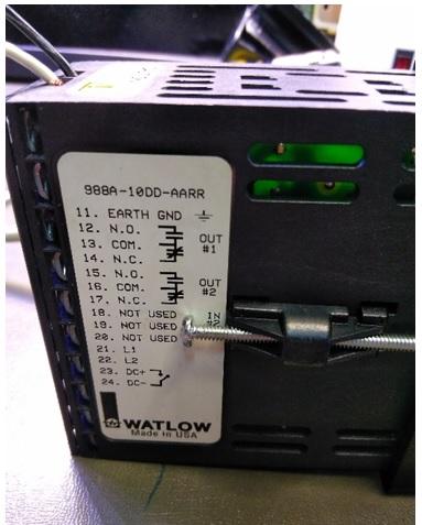 No Power in Watlow 988 Series Temperature Controller repair