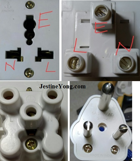 3 pin plugs