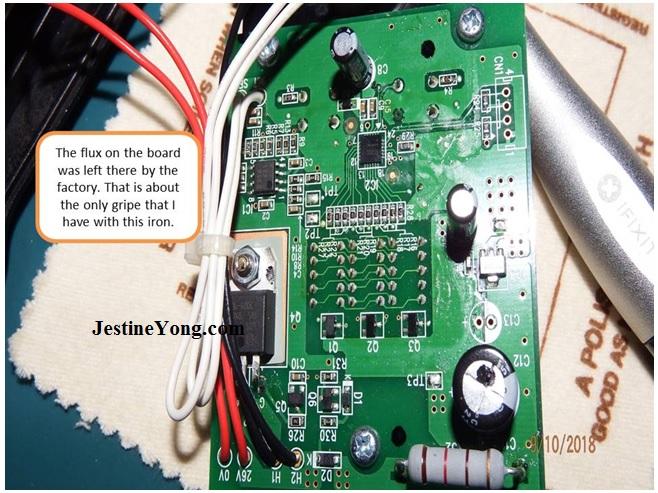 soldering iron circuit board