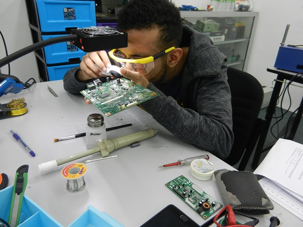 checking a pcb board