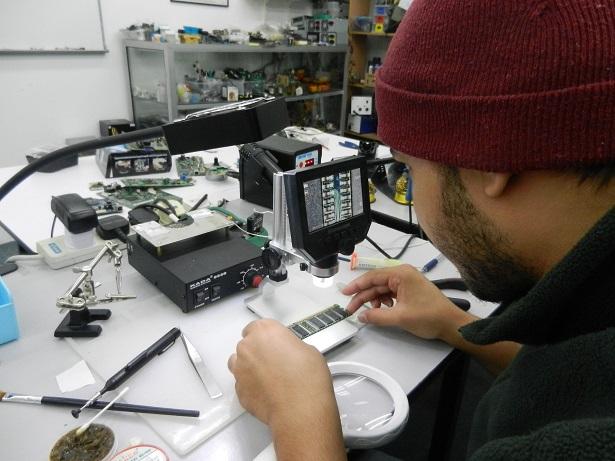 microelectronics repair