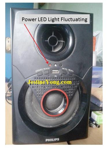 Philips 2.1 speaker repair