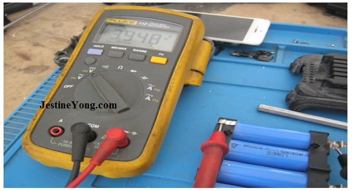 lithium ion battery check