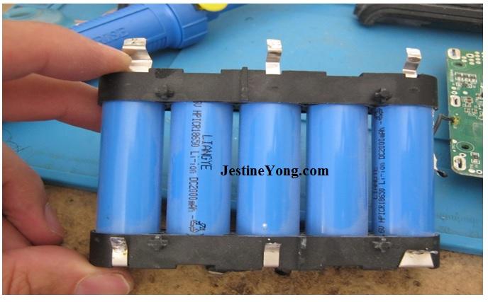 lithium ion battery repair
