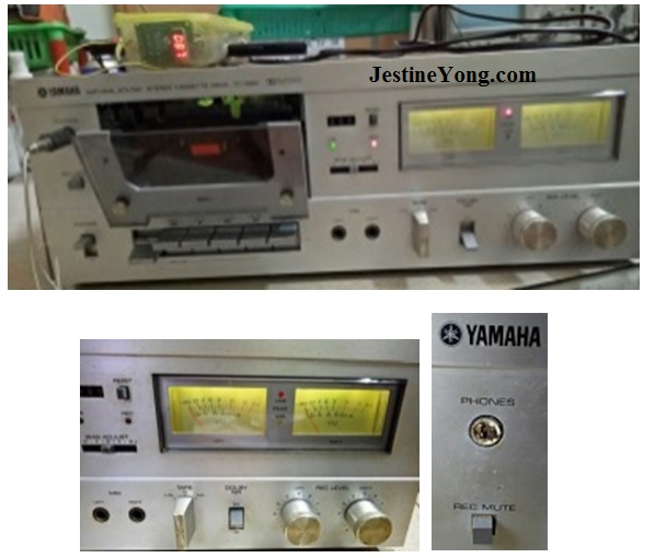 repair and service yamaha tape deck