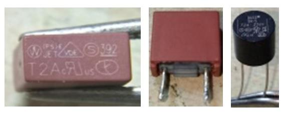 shorted bridge and fuse