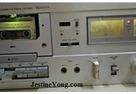 yamaha tape deck service ad repair