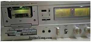 yamaha tape deck service ad repair