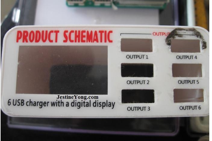 6 usb charger repair