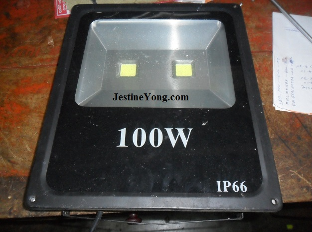 how to repair led light