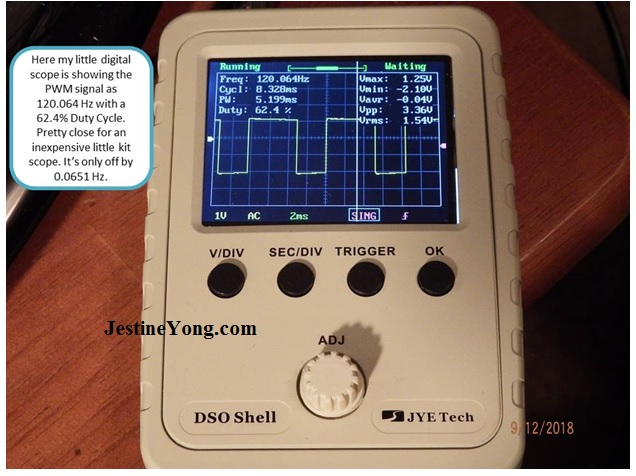JYE Tech DSO Shell Digital kit oscilloscope
