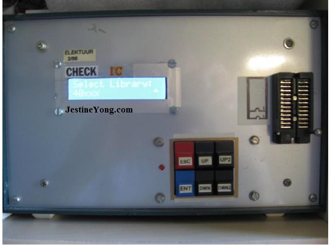 Elektor IC tester machine