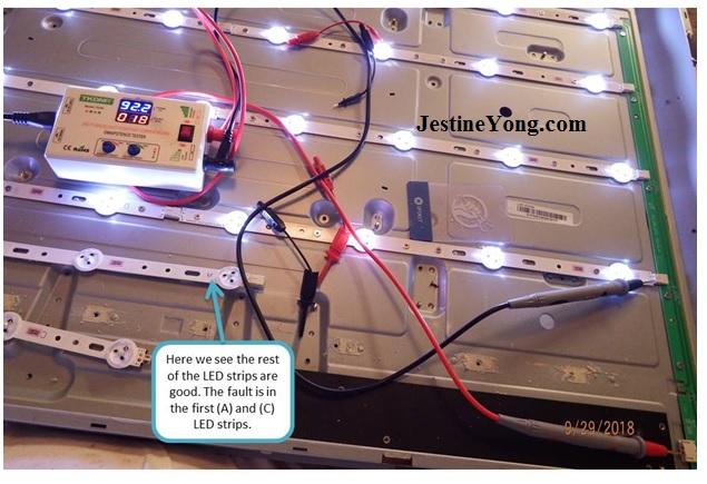 sanyo led tv backlight tester