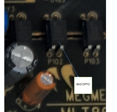 optocoupler ic faulty