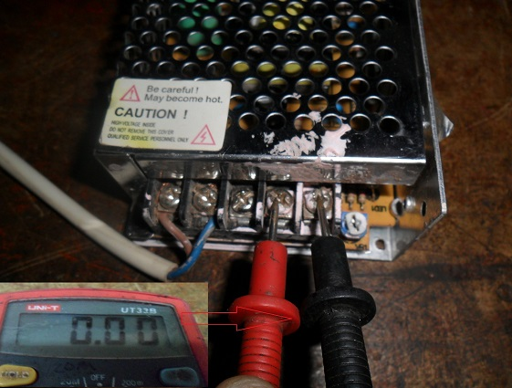 no output voltage in smps