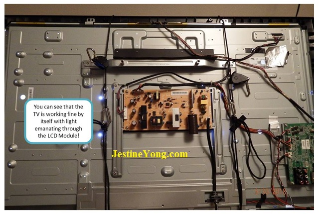 led tv module sanyo