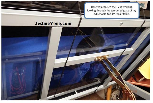 lcd tv panel holder