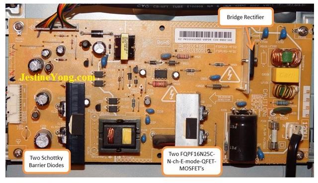 sanyo dp40142 led tv repair