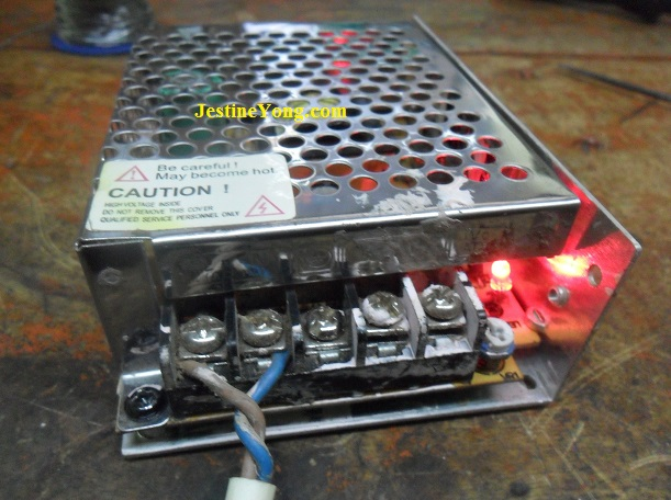 working smps 12 volt 5 amp