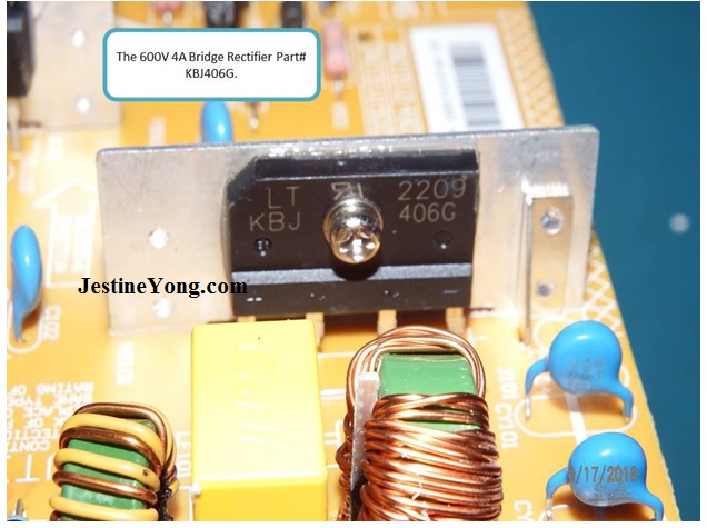 bridge rectifier led tv