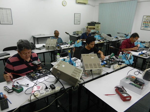 oscilloscope course