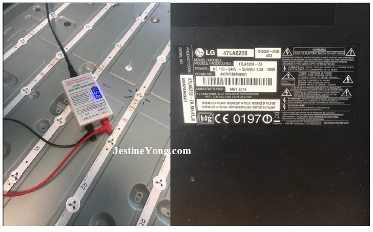 led tv backlight repair