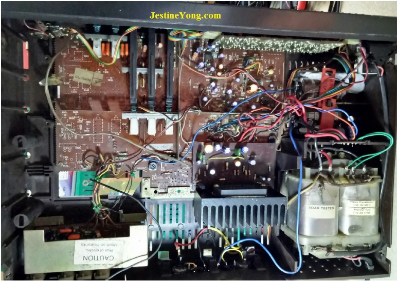 how to fix philips amplifier board