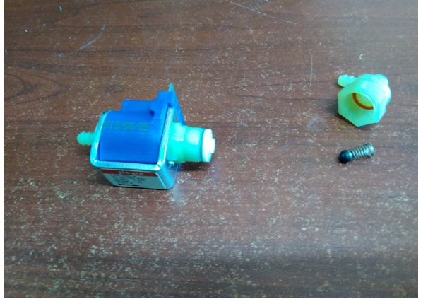 faulty pump steam cleaner