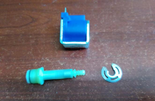 faulty pump part steam cleaner repairing