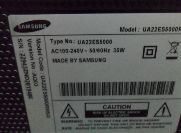 """samsung 22"""" led tv repair"""