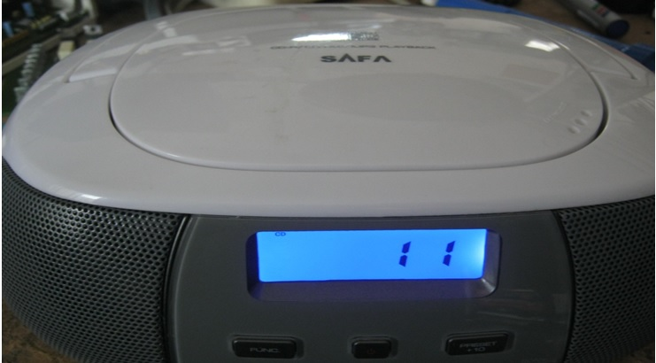 how to fix safa cd player