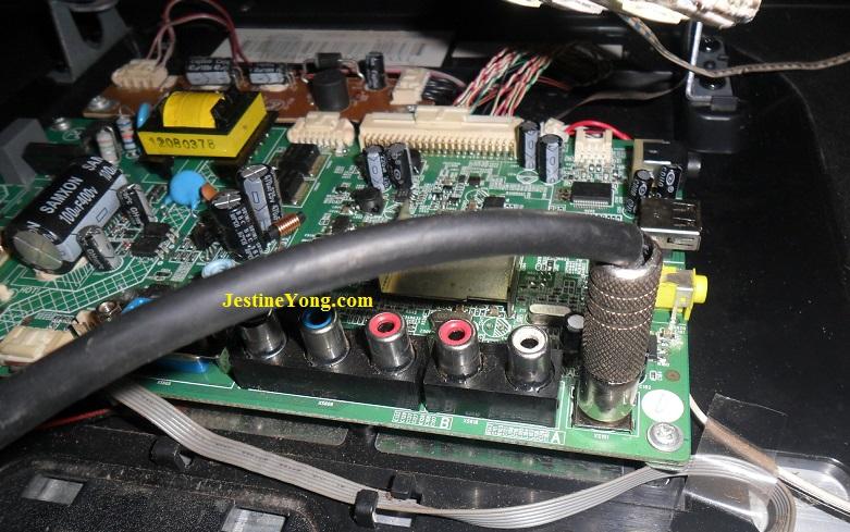 konka led tv repair no signal fix