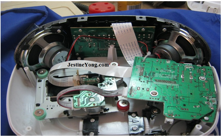 cd player board