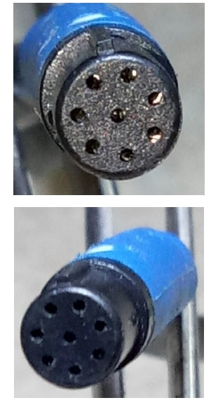 7 pins socket