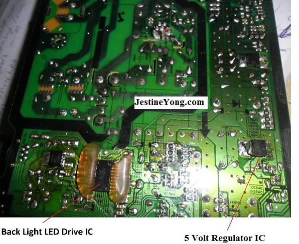 led tv boards fix