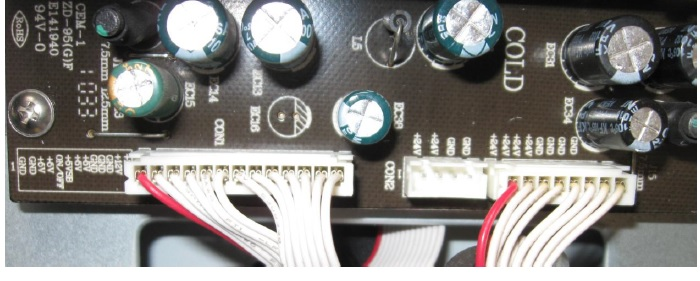 power board connectors