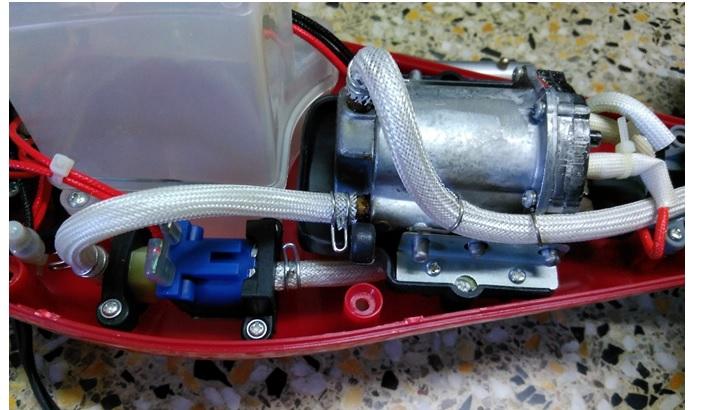 steam cleaner motor repairing