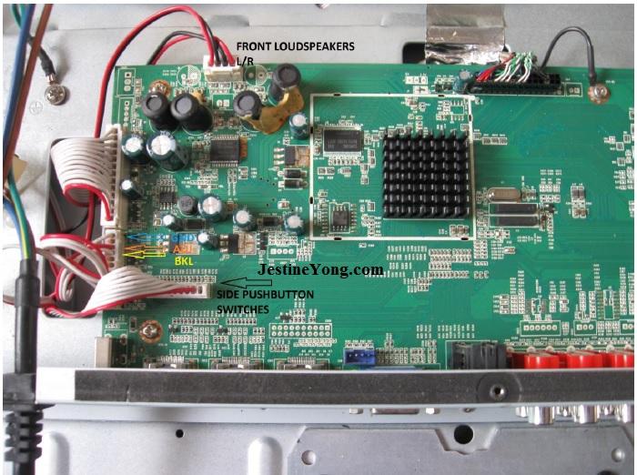 lcd tv mainboard repair