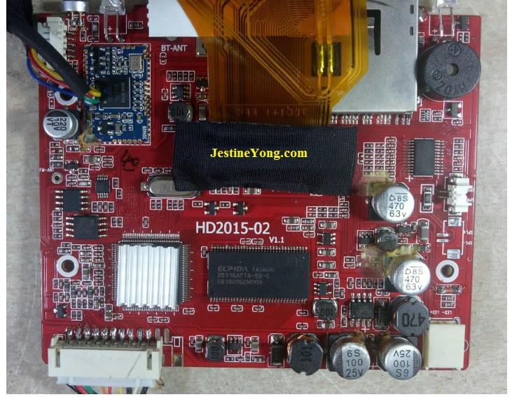 car monitor circuit board