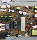 lcd tv power board fix