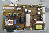 lcd tv power board fix
