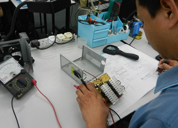 how to read power supply schematic course