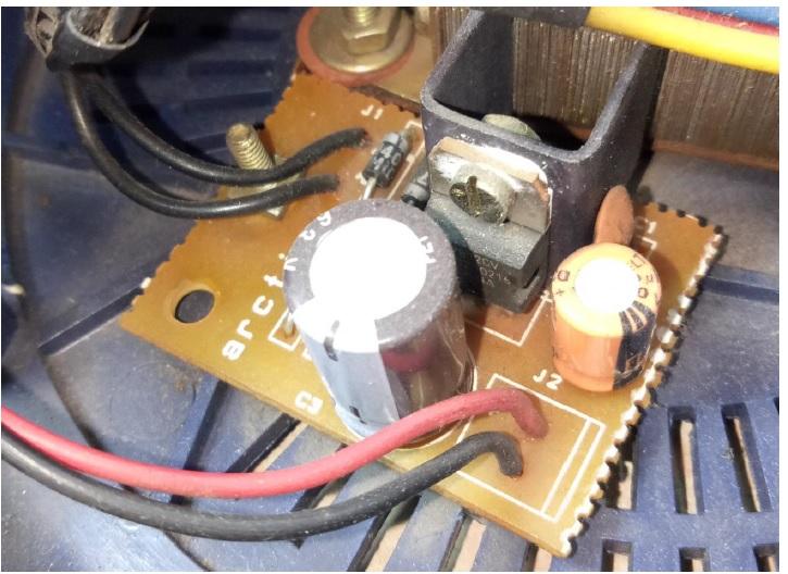 Voltage stabilizer board repair